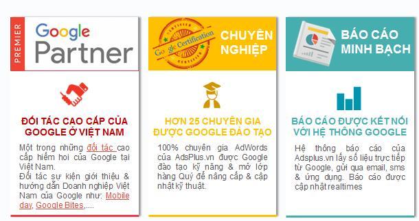 Top 3 ưu điểm vượt trội dịch vụ quảng cáo Google Adwords tại Adsplus.vn